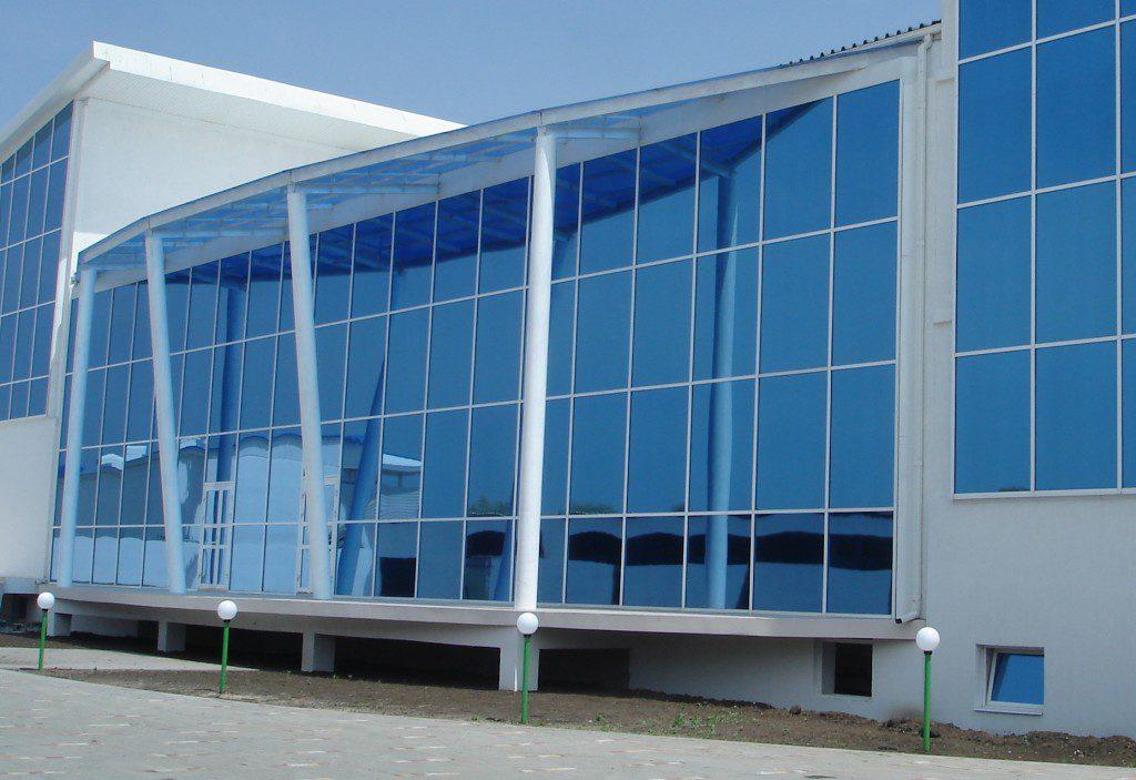 Тонировка окон в Офисе в Севастополе - Shadow